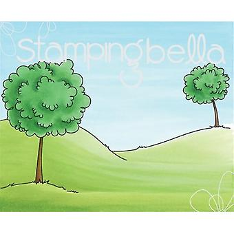 Stamping Bella Backdrop Cling Stamp 3.75