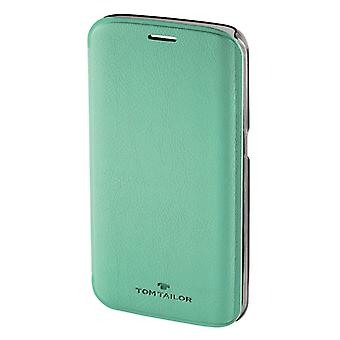 Tom Tailor Booklet New Basic Voor Samsung Galaxy S6 Edge Peppermint