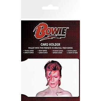 David Bowie Aladdin Sane Card Holder
