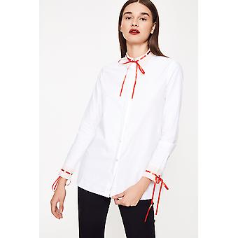 Cubic Shirt With Cuff Detail