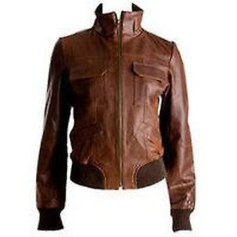 Sheryl Womens Leather Jacket