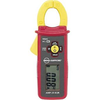 Clamp meter Digital Beha Amprobe AMP-25-EUR Calibrated to: Manufacturer's standards (no certificate) CAT III 600 V Disp