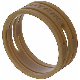 ID ring Neutrik XXR-SET-1 Brown 10 pc(s)