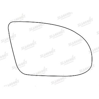 Right Stick-On Mirror Glass for Vauxhall TIGRA 1994-2003