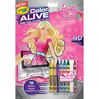Crayola Barbie Color Alive (Babies and Children , Toys , Educative And Creative)