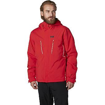 ヘリー ・ ハンセン メンズ充電器暖かい快適ストレッチ スキー ジャケット コート