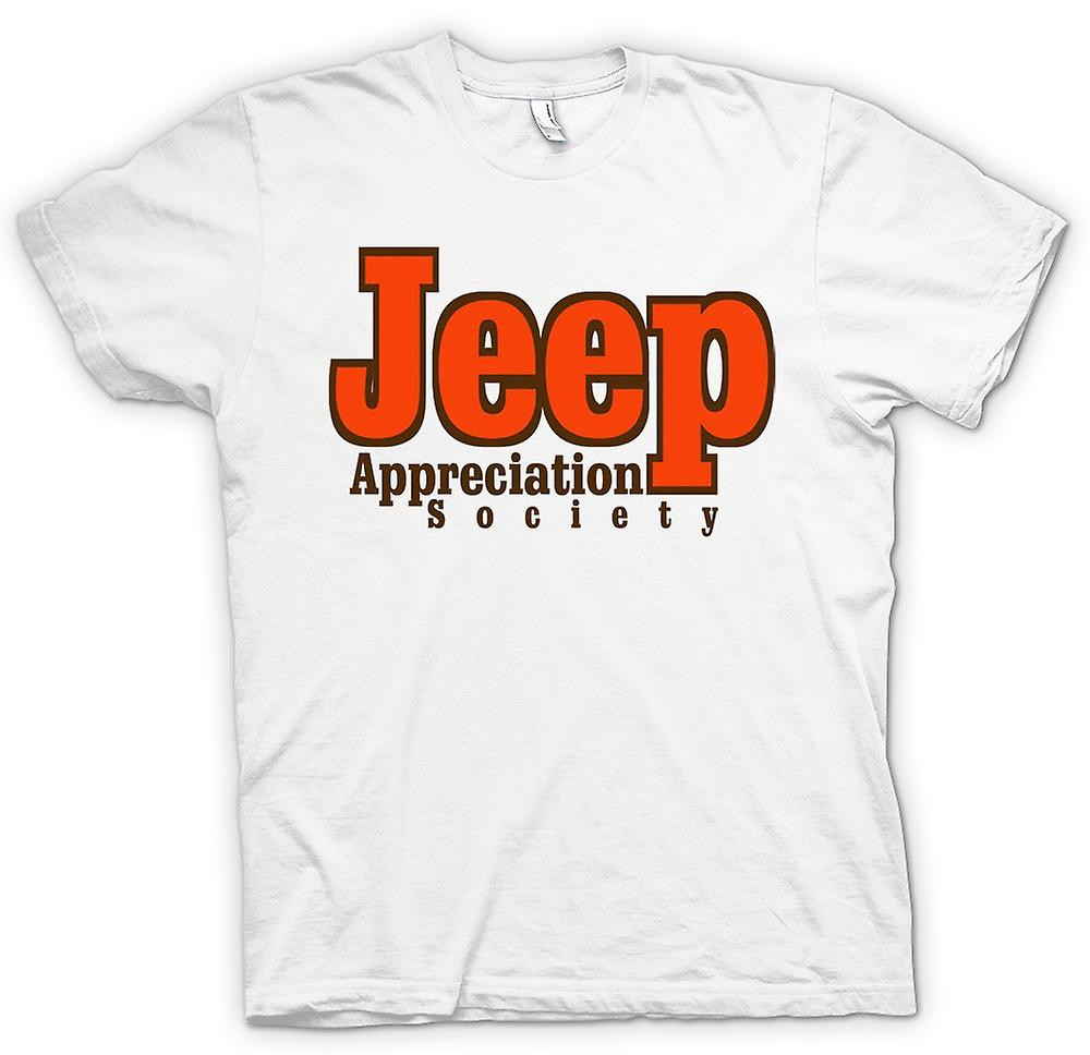Womens T-shirt - Jeep Appreciation Society