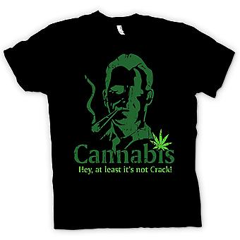 Kids T-shirt - Cannabis - At Least Its Not Crack