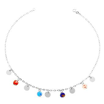 Orphelia Silver 925  Colered Necklace 40Cm   ZK-2525