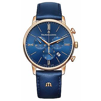 Maurice Lacroix Eliros Chronograph Blue And Gold EL1098-PVP01-411-1 Watch