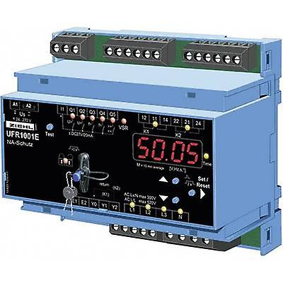 Voltage frequency monitoring relay Ziehl UFR1001E No. of relay outputs  2 No. of digital inputs  1