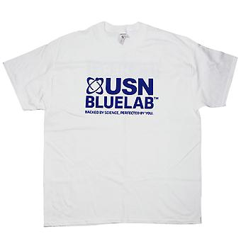 USN Blue Lab Whey T Shirt Fitness Gym Training Bodybuilding Workout Top X-Large