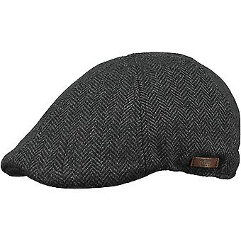 Barts Mens Mr. Mitchell Funky Style Adjustable Newsboy Flat Cap Hat