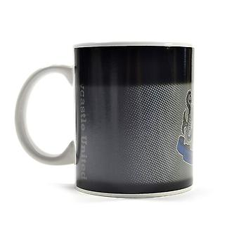 Newcastle United FC Gradient Heat Changing Mug