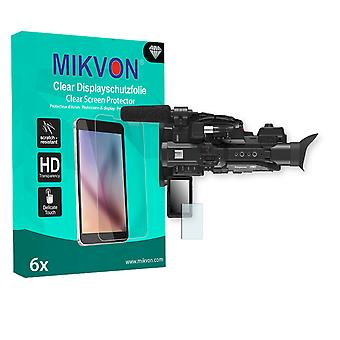 Panasonic HC-X1 Screen Protector - Mikvon Clear (Retail Package with accessories)