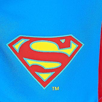 Mittelerweile jungen Superman Pogo Mini Jammer, blau/rot