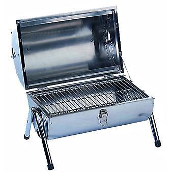 Draagbare barbecue RVS dubbel uitgevoerd
