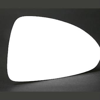 Right Stick-On Mirror Glass for OPEL CORSA D Van 2006-2014