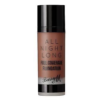 Barry M Barry M All Night Long Full Coverage Foundation - Chestnut