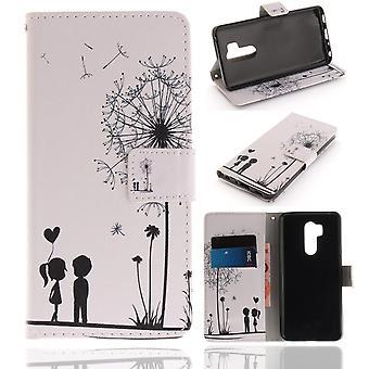 LG G7 ThinQ Plånboksfodral - Dandelion