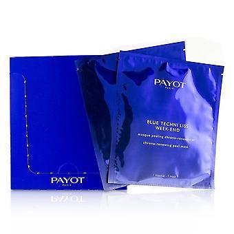 Payot Blue Techni Liss Week-End Chrono-Renewing Peel Mask - 10pcs