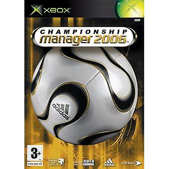 Championship Manager 2006 (Xbox)