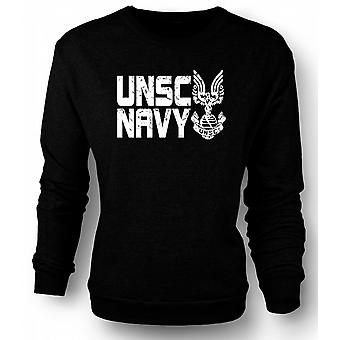 Sweatshirt UNSC Kids Navy Logo - Gamer