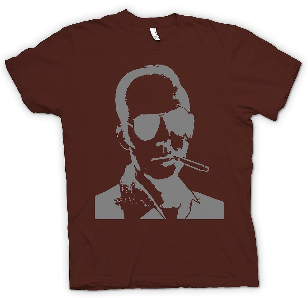 Mens t-shirt-Hunter S Thompson paura e delirio