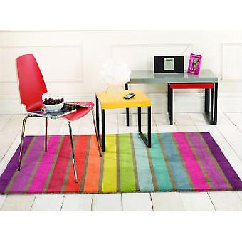 Illusion Candy Multi  Rectangle Rugs Funky Rugs