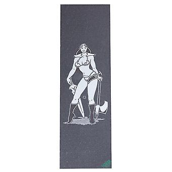 Mob Black Mike Giant Axe Woman - 9 Inch Skateboard Grip Tape