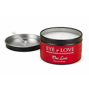 One Love massage candle for her