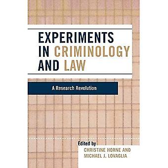 Experiment i kriminologi och lagen: en forskning Revolution