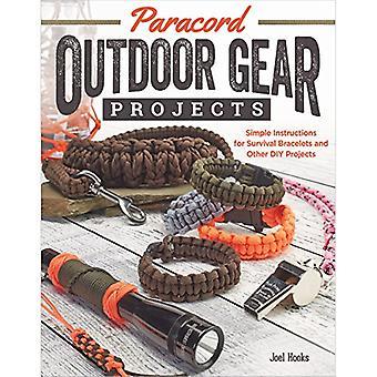 Paracord Outdoor Gear projecten: Eenvoudige instructies voor overleving armbanden en andere DIY projecten