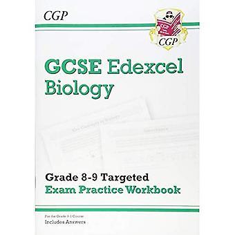 Nya GCSE biologi Edexcel årskurs 8-9 riktade tentamen praxis arbetsbok (inkluderar svar)