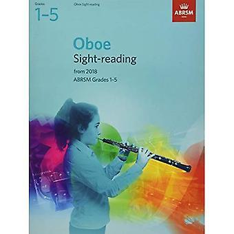 Oboe Sight-Reading tester, ABRSM årskurs 1-5: från 2018 - ABRSM Sight-reading (noter)