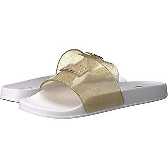 9cc24f36379f5a G by Guess Womens Kyliee Open Toe Casual Slide Sandals