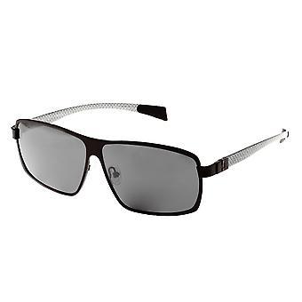 Breed Finlay Titanium Polarized Sunglasses - Black/Black