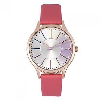 Crayo Gel Unisex Watch - Coral