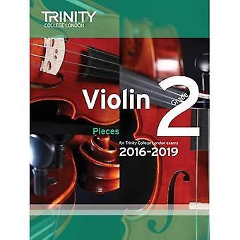 Violin Exam Pieces Grade 2 2016-2019 (Score & Part)