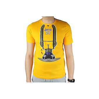 adidas Youth GFX PL LA Lakers Tee G77938 Kids T-Shirt