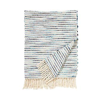 Damai plaid 130 x 170 cm mombassa blue