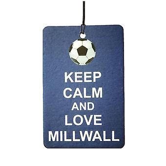 Holde ro og elsker Millwall bil Air Freshener