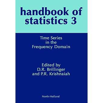 Manuale di statistica Vol. 3 HS 3 volta serie nel dominio della frequenza di Brillinger & David R.