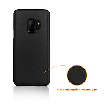 Stuff Certified ® Samsung Galaxy S9 Plus - Anti Gravity Absorption Case Cover Cas Case Black