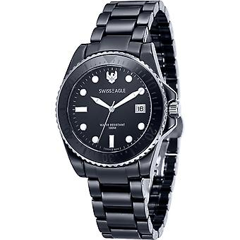 Swiss Eagle Glacier SE-9051-33 Unisex Horloge