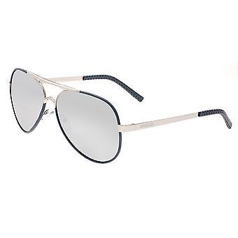 Breed Genesis Polarized Sunglasses - Silver/Silver