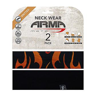 ARMR Moto Flame Summer Motorcycle Neck Warmer
