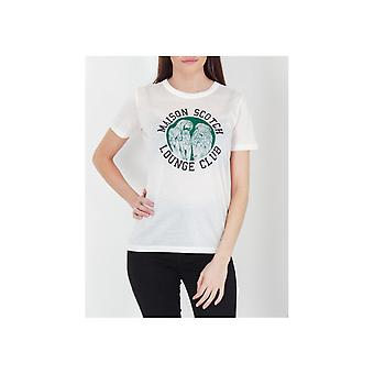 Maison Scotch Lounge Club Relaxed Tee