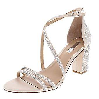 INC Womens Kamma Metallic Strappy Dress Sandals