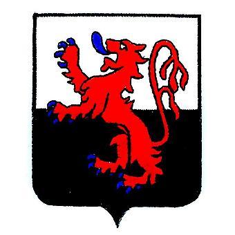 Patch Ecusson Brode Poitou Charentes Blason Arms Flag Region Heraldic